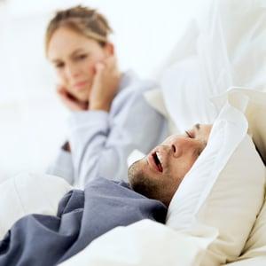 Man snoring-1
